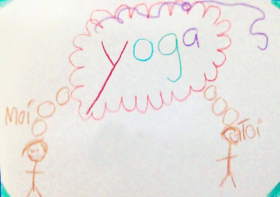 Yoga wazo dessin