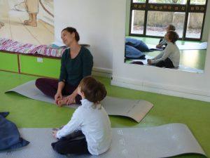 yoga parent enfant lyon
