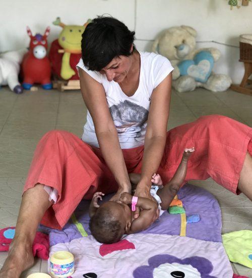 animatrice massage bebe